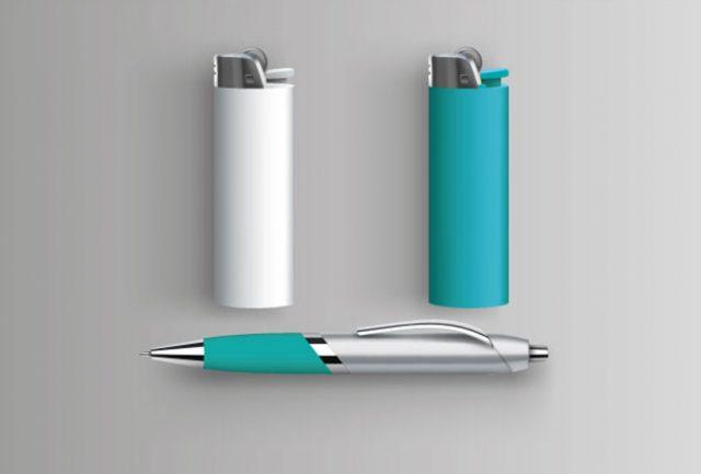 Brick et stylo