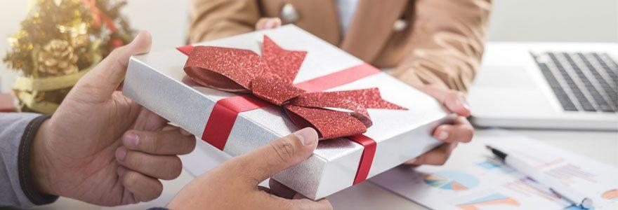 Cadeau entreprise : Une opération marketing rentable