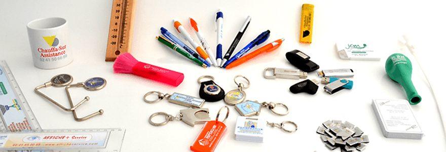 Gestion et logistique d'objets publicitaires : contacter une entreprise en ligne
