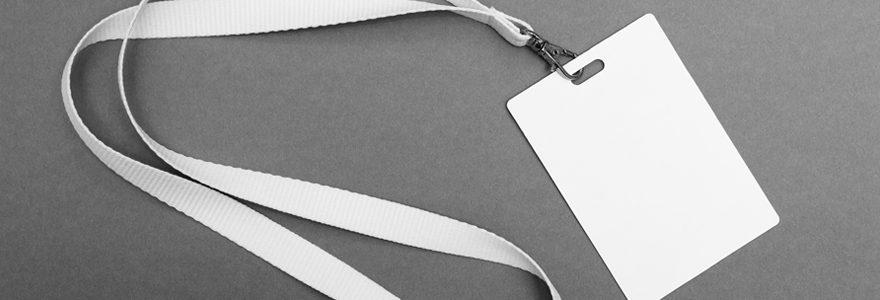 Personnaliser des badges en ligne